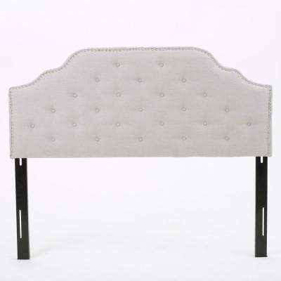 Silas Light Grey Queen/Full Headboard