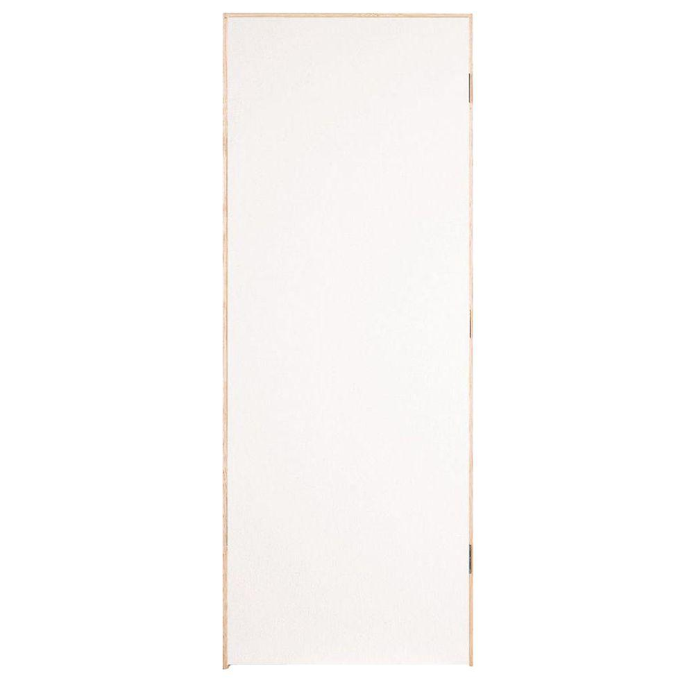 Flush Hardboard 20-Min Fire Rated Solid-Core Smooth Primed Composite Single Prehung Interior Door  sc 1 st  Home Depot & Masonite 36 in. x 80 in. Flush Hardboard 20-Min Fire Rated Solid ...