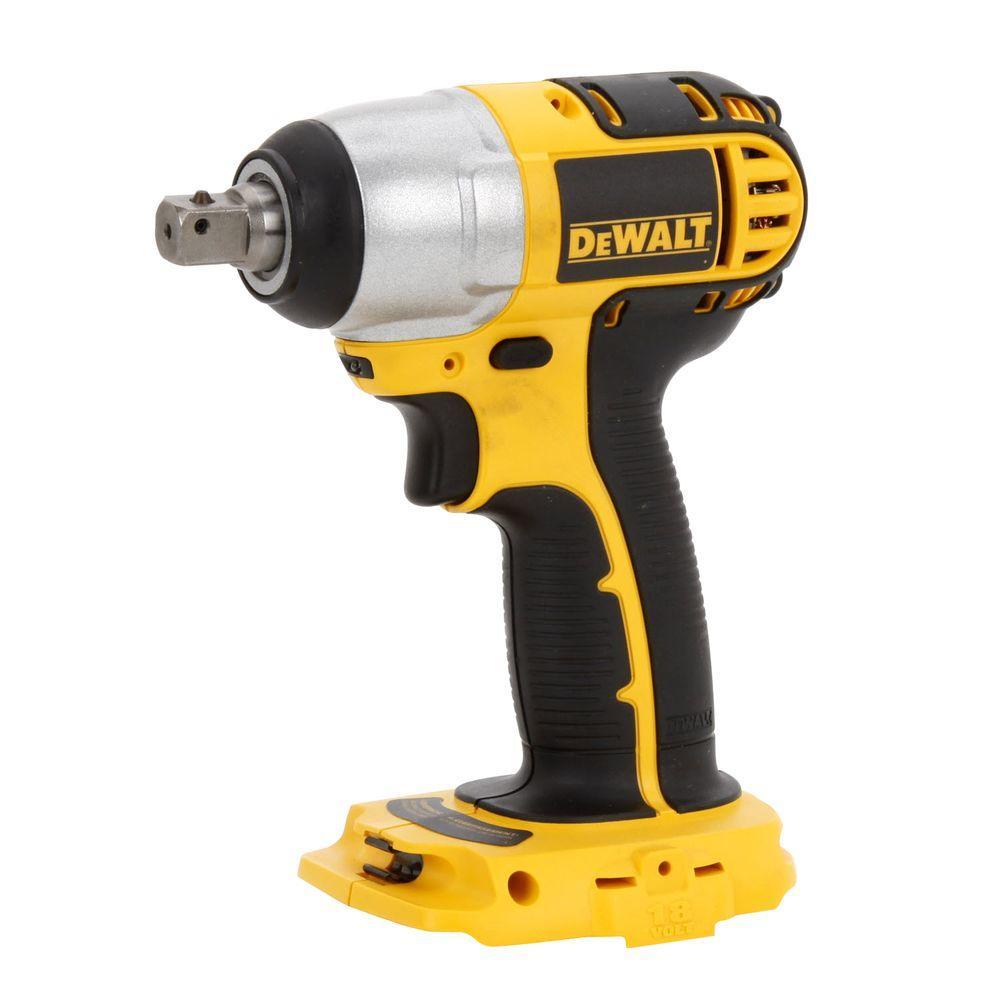 Dewalt 18-Volt NiCd Cordless 1/2 inch (13 mm) Impact Wrench (Tool-Only) by DEWALT