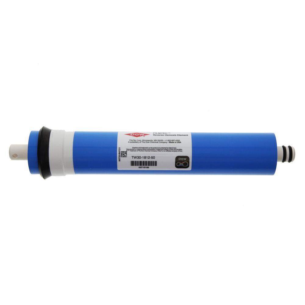 50GPD RO Reverse Osmosis Membrane Replacement for Filmtec TW30-1812-50 NSF//ANSI