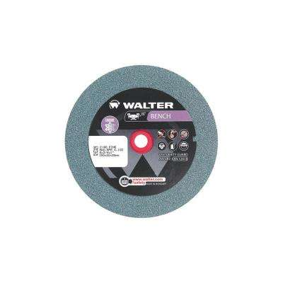 6 in. x 1 in. Arbor x 3/4 in. GR 80 Fine Bench Grinding Wheels