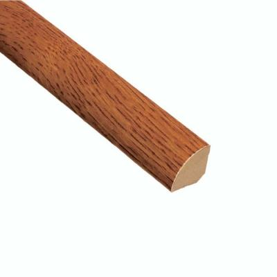 Oak Gunstock 3/4 in. Thick x 3/4 in. Wide x 94 in. Length Quarter Round Molding