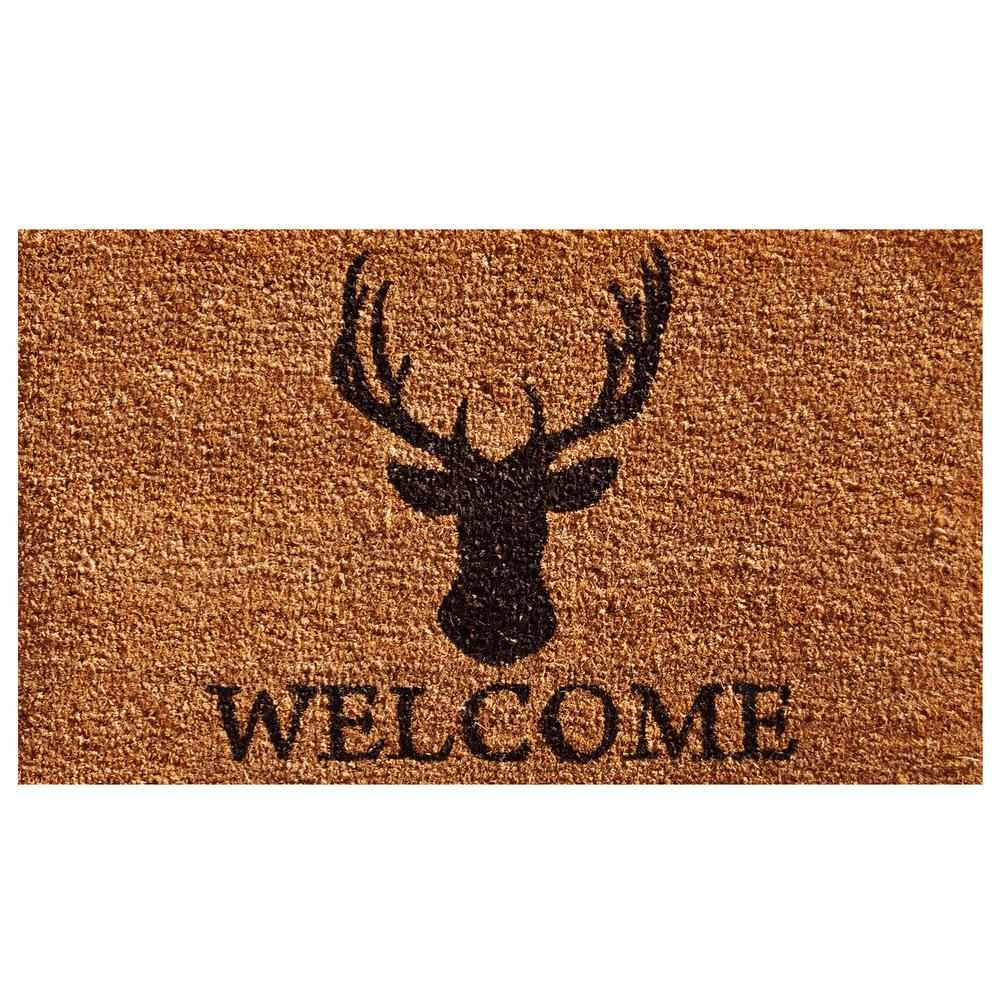 Deer Welcome Doormat