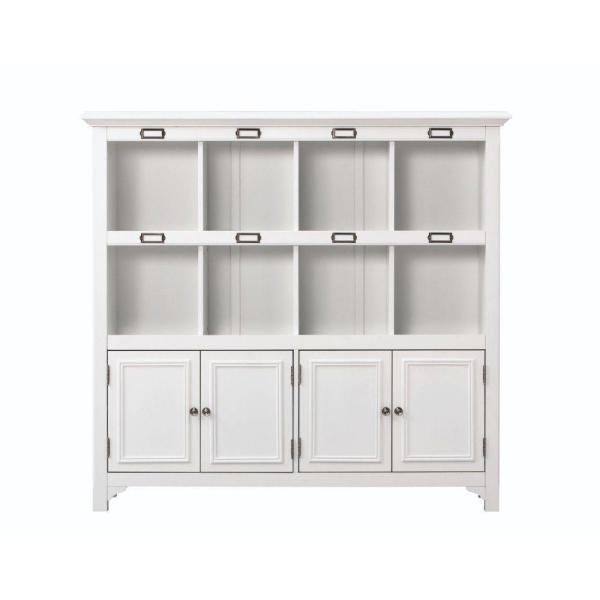 Home Decorators Collection William White Organizer with 8 Cubes (53.25 in.