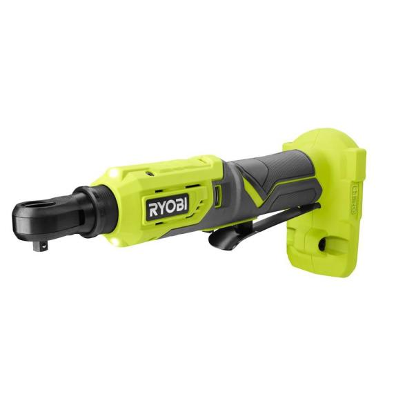 18-Volt ONE+ Cordless 1/4 in. 4-Position Ratchet (Tool Only)