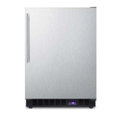4.7 cu. ft. Frost Free Upright Outdoor Freezer In Stainless Steel