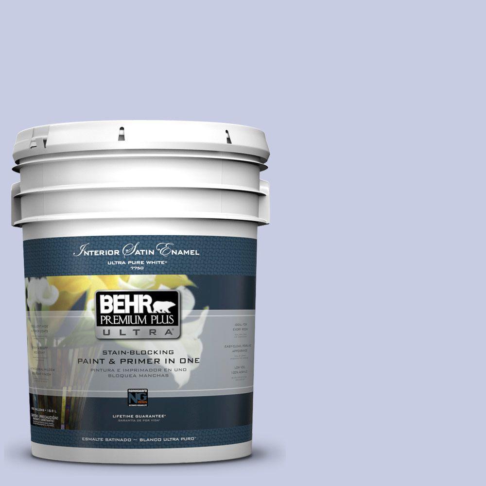 5-gal. #620C-2 Lilac Bisque Satin Enamel Interior Paint