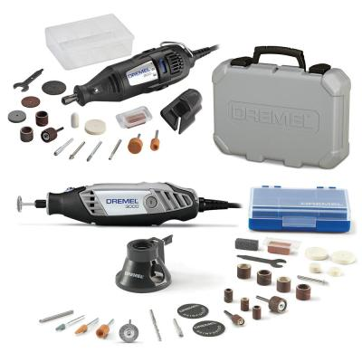 3000 Series 1.2 Amp Variable Speed Corded Rotary Tool Kit + 200 Series 1.15 Amp Dual Speed Corded Rotary Tool Kit
