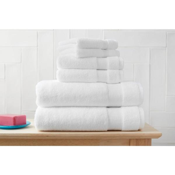 6-Piece Hygrocotton Towel Set