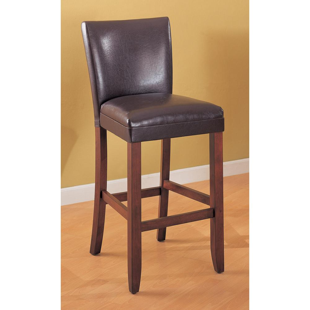 Coaster Furniture Contemporary 29 in. Brown and Chestnut ...