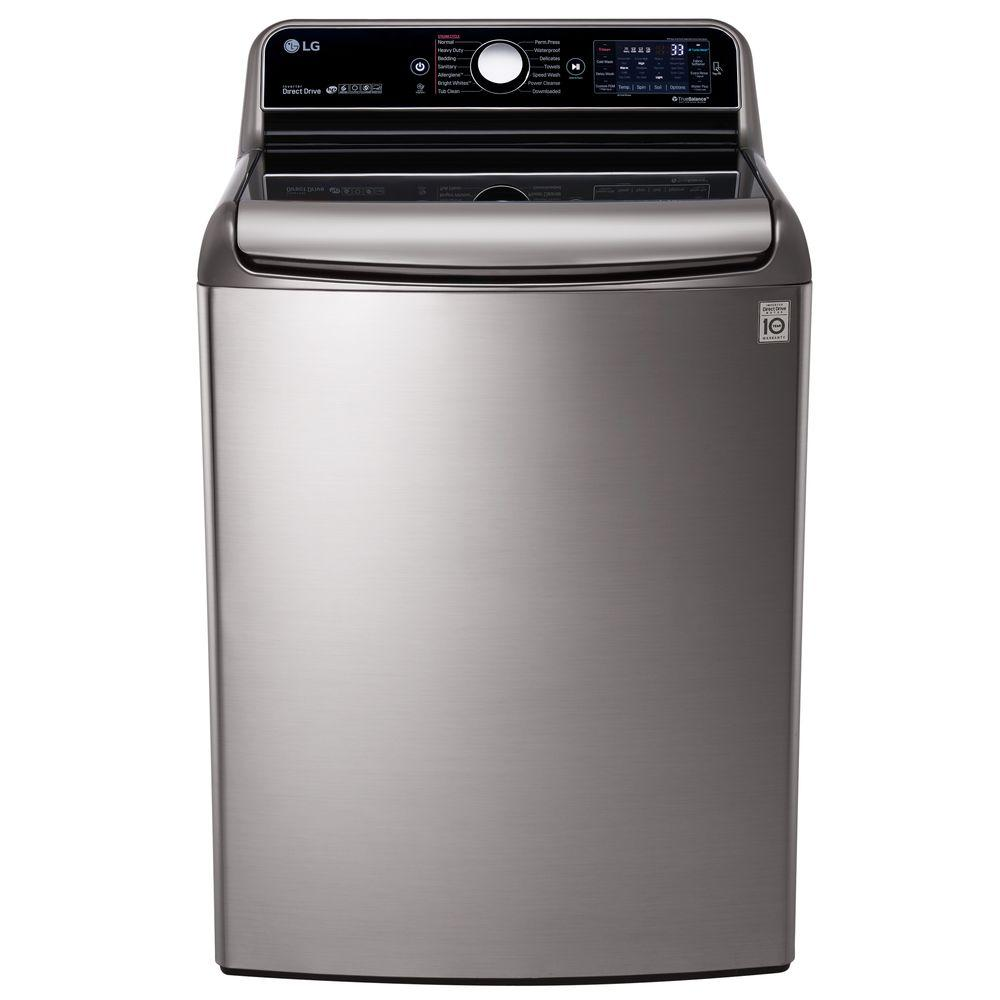 5.7 cu. ft. High-Efficiency Top Load Washer with Steam and TurboWash