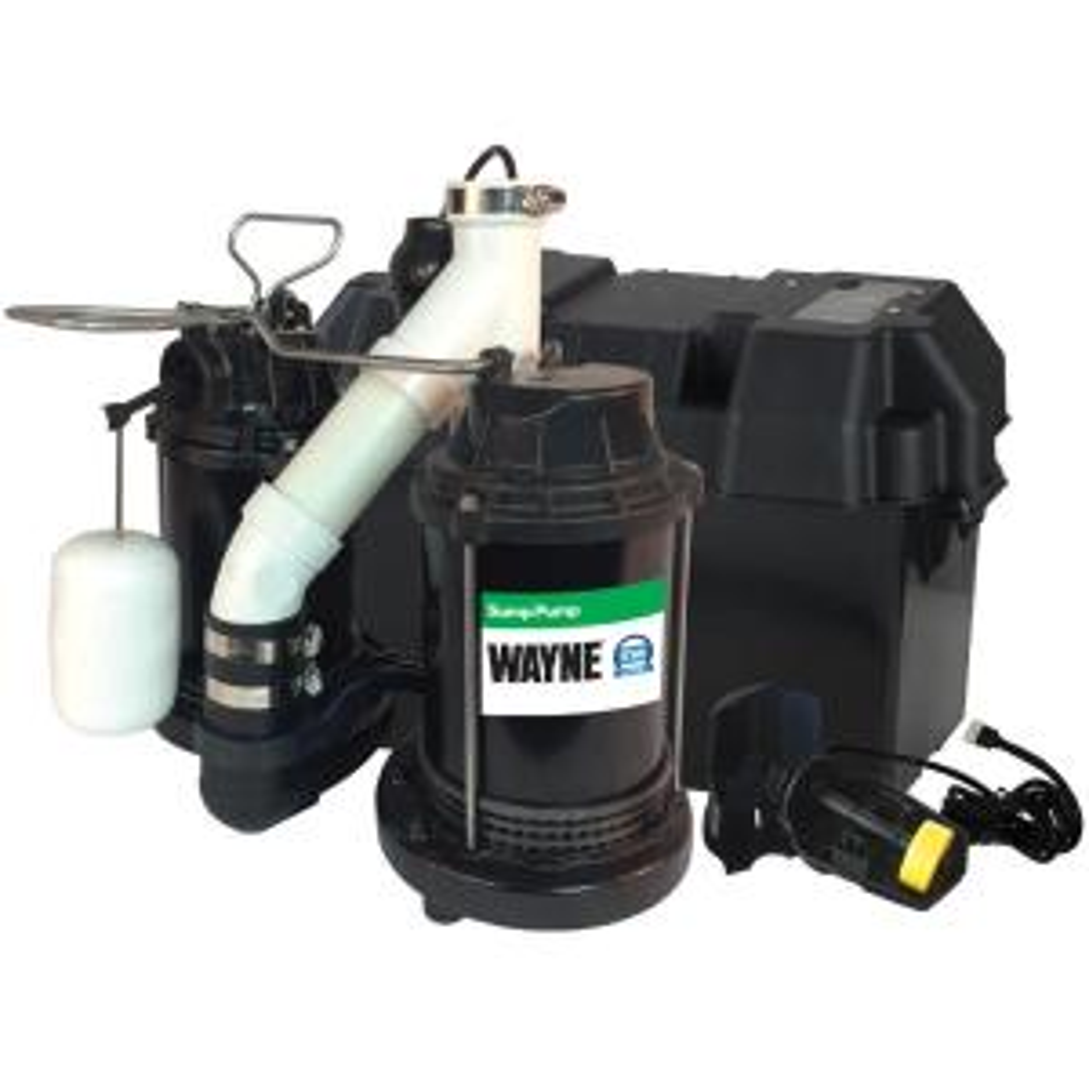 Basement Watchdog 0 33 HP Special + Battery Backup Sump Pump
