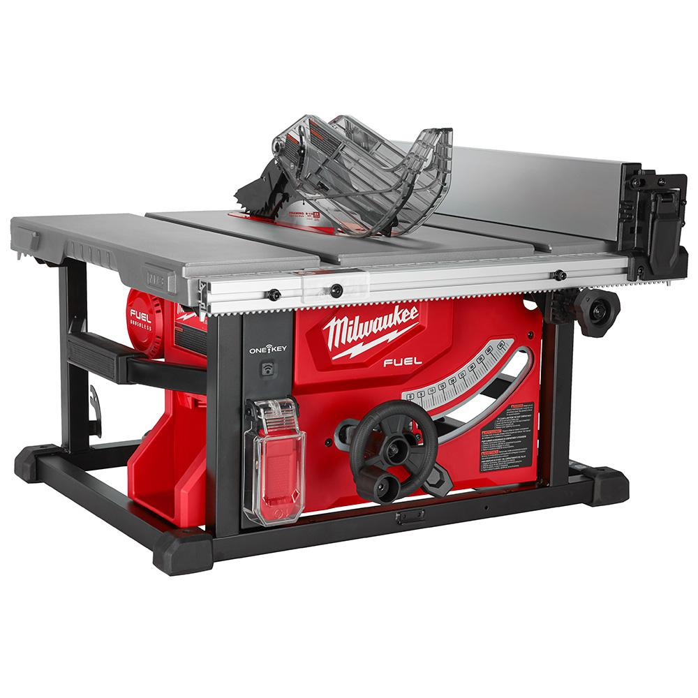 Fabulous Milwaukee M18 Fuel One Key 18 Volt Lithium Ion Brushless Cordless 8 1 4 In Table Saw Tool Only Machost Co Dining Chair Design Ideas Machostcouk