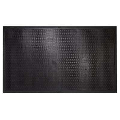 Maze Durable Anti Fatigue 5 ft. x 3 ft. Commercial Rubber Scraper Floor Mat