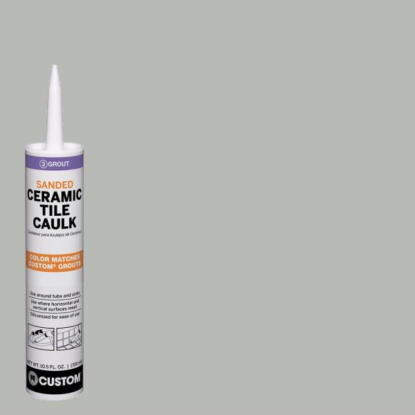 Polyblend #546 Cape Gray 10.5 oz. Sanded Ceramic Tile Caulk