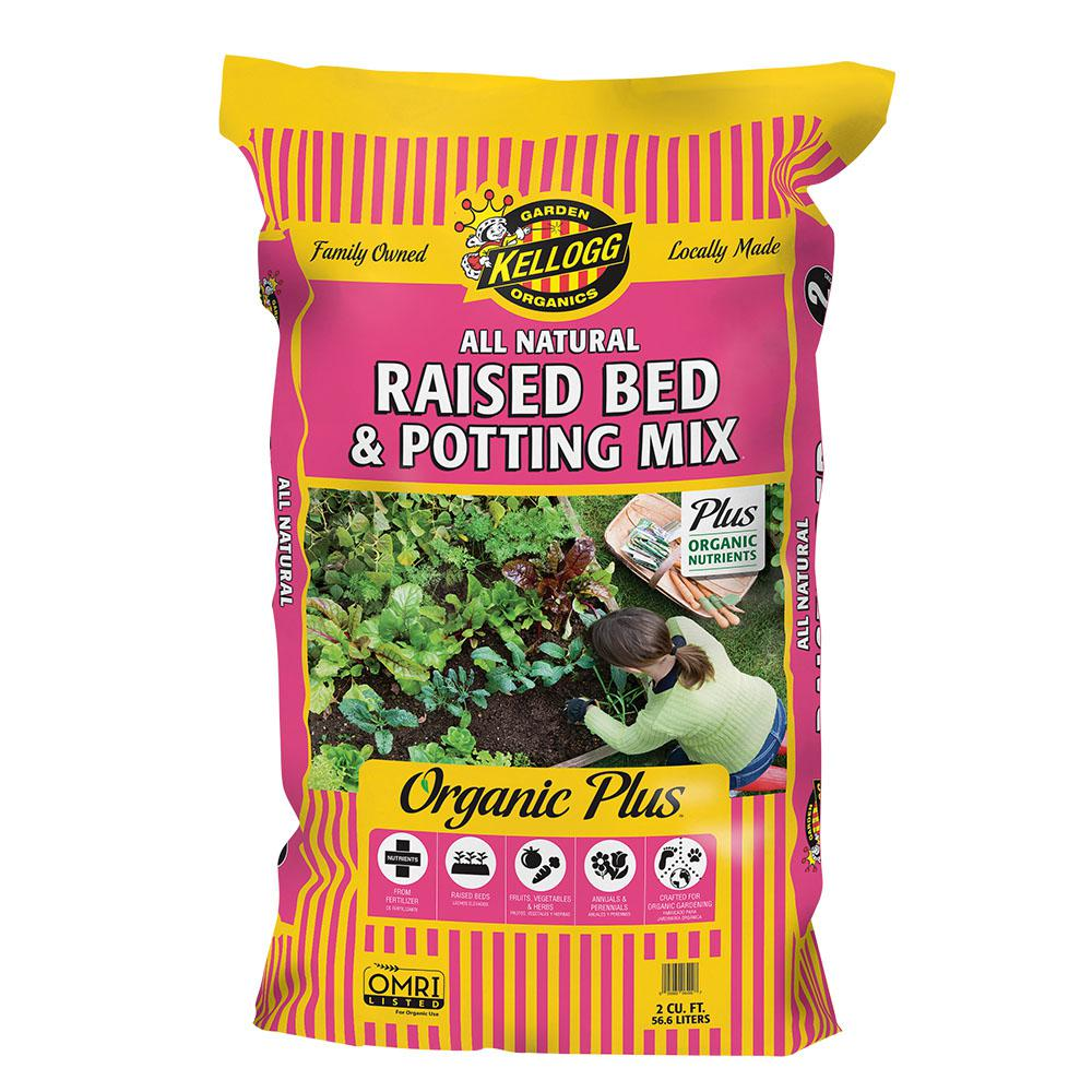 2 cu. ft. All Natural Raised Bed and Potting Mix Premium