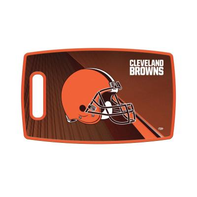 Cleveland Browns Large Plastic Cutting Board