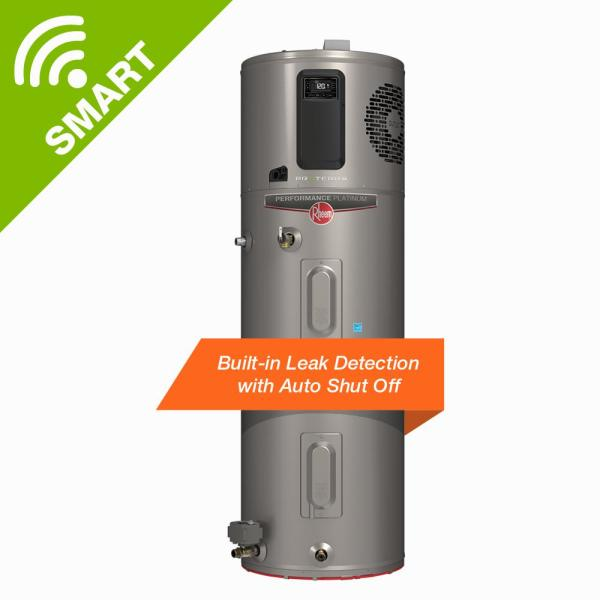 ProTerra 80 Gal. 10-Year Hybrid High Efficiency Smart Tank Electric Water Heater with Leak Detection & Auto Shutoff