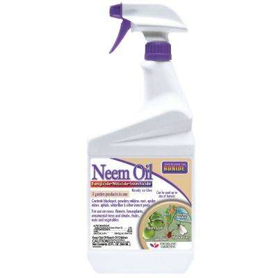 32 oz. Ready to Use Neem Oil Fungicide Miticide and Insecticide