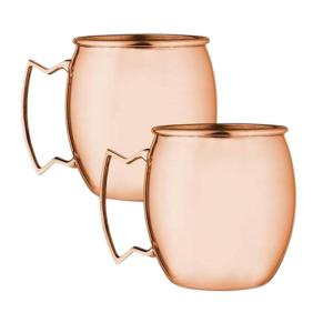 Modern Home Moscow Mule Mug Set (Set of 2)-MMS-708/15 - The Home Depot