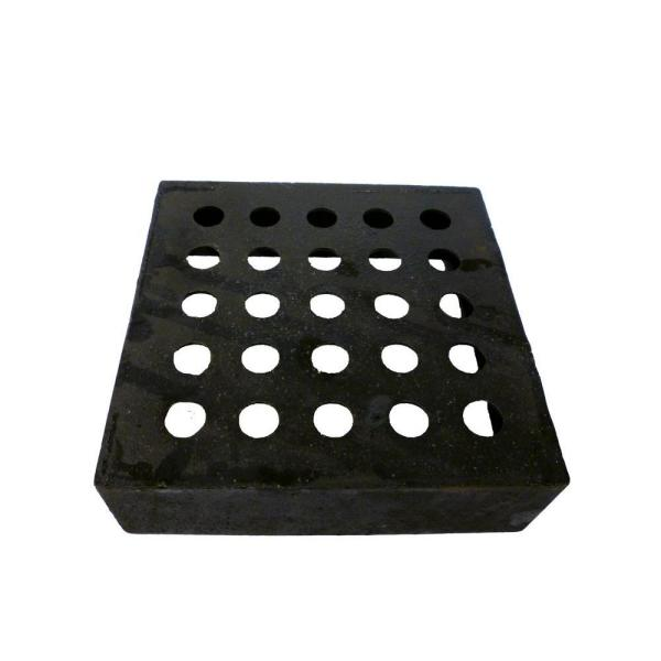 6 in. x 6 in. x 2 in. Cast-Iron No-Calk Perforated Vent Box