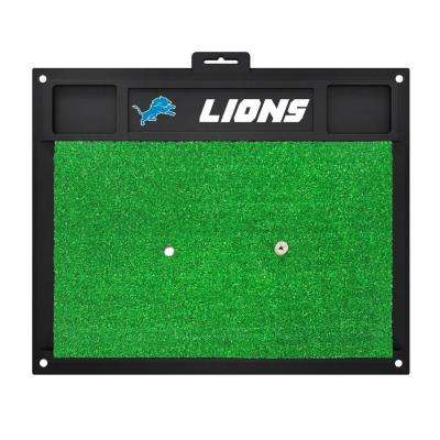 NFL Detroit Lions 17 in. x 20 in. Golf Hitting Mat