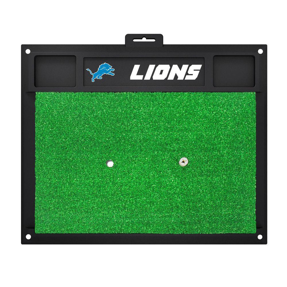 NFL Detroit Lions 17 in. x 20 in. Golf Hitting Mat
