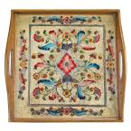 12 in. Gemstone Sand Square Tray