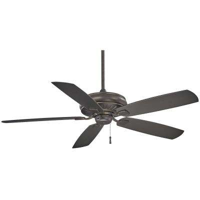 Sunseeker 60 in. Indoor/Outdoor Smoked Iron Ceiling Fan