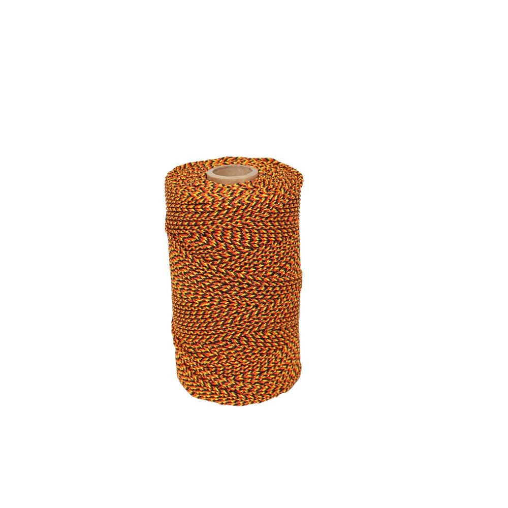 25 x 18m Orange Braided Nylon Bricklayers Brick Block Masonry Line 450 Metre