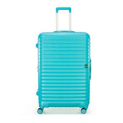 Groove 2 in. 31.3 in. Minty Blue Hardside Spinner Suitcase