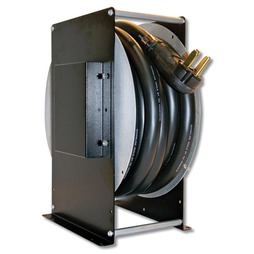 33 ft. 50 Amp RV Power Cord Reel High Profile Cord