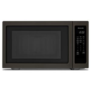 "KitchenAid 1.6 cu. ft. Countertop Microwave in Black Stainless ... on maytag microwave, cuisinart microwave, tappan microwave, sharp microwave, lg microwave, kenmore microwave, emerson microwave, panasonic microwave, hotpoint microwave, 24"" wide microwave, whirlpool microwave, amana microwave, goldstar microwave, sanyo microwave, red microwave, ge microwave, electrolux microwave, built in microwave, modern microwave, stainless steel microwave,"