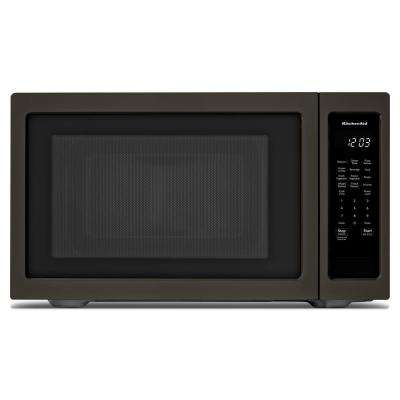 2.20 cu. ft. Countertop Microwave in Black Stainless
