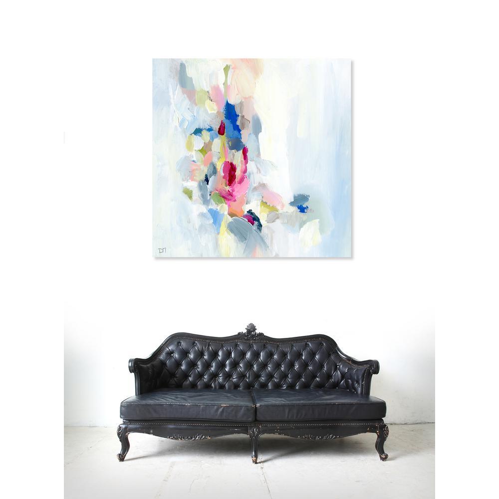 30 in. x 30 in. 'Mi Alegria' by Oliver Gal Printed Framed Canvas Wall Art