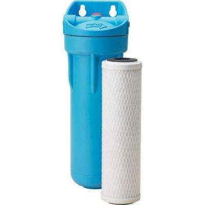 13 in. x 4 in. Undersink Water Filtration System