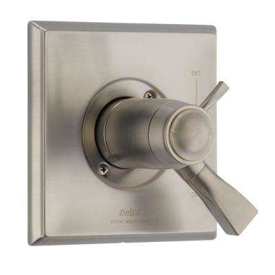 Dryden TempAssure 1-Handle Volume/Temperature Control Valve Trim Kit in SpotShield Stainless (Valve Not Included)