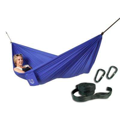 Single Ultralight Hammock with Free Tree Straps