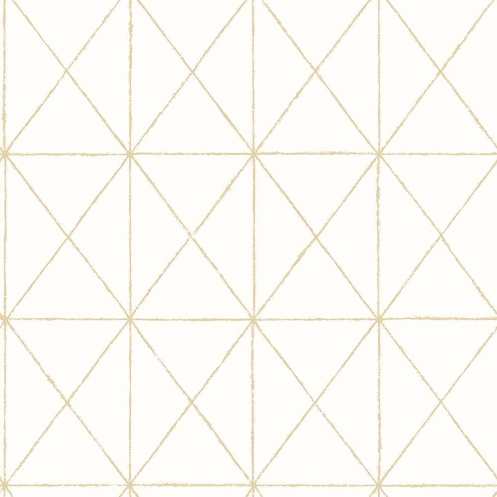 A Street Intersection Gold Geometric Wallpaper 2697 78002 The Home