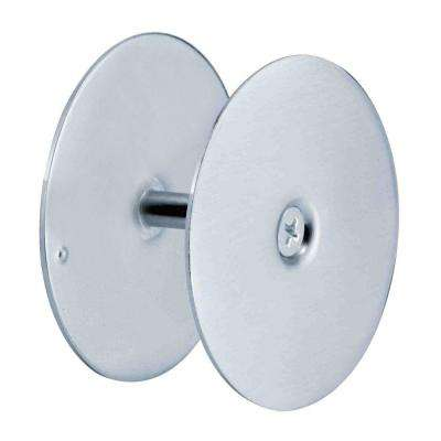 2-5/8 in. Satin Nickel Hole Cover Plate