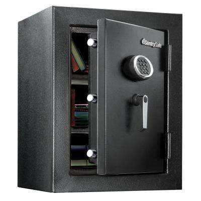 EF3428E 3.39 cu ft Fireproof Safe and Waterproof Safe with Digital Keypad