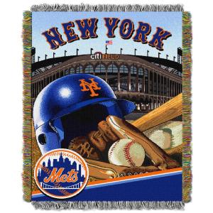 Mets Multi Color Home Field Advantage Tapestry Throw by
