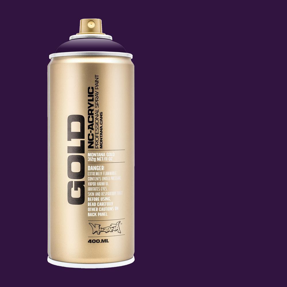 13 oz. GOLD Black Purple Spray Paint