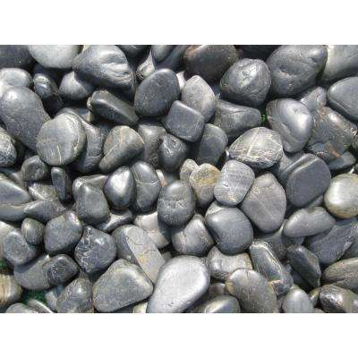 Ash Beach River Rock 3 cm - 5 cm 40 lbs. Bag (42 Bags/Pallet)