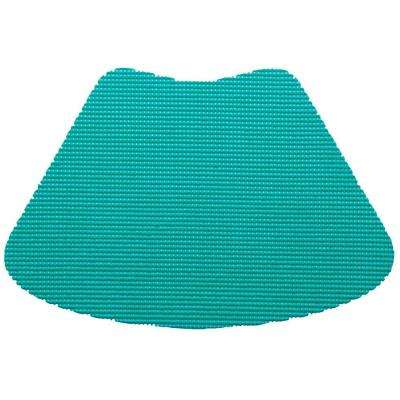 Fishnet Wedge Placemat in Teal (Set of 12)
