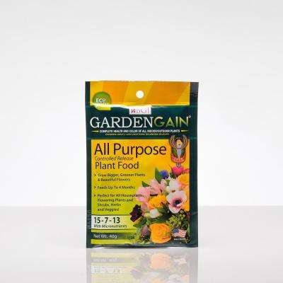 GardenGain 1.4 oz. All Purpose Fertilizer (3-Pack)