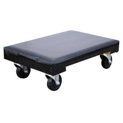 24 in. x 16 in. 1,200 lb. Vinyl Covered Hardwood Dolly