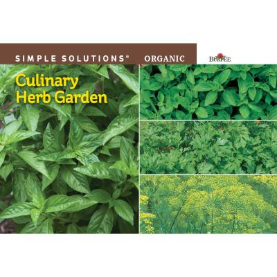 Simple Solutions Organic Culinary Herb Garden Seed
