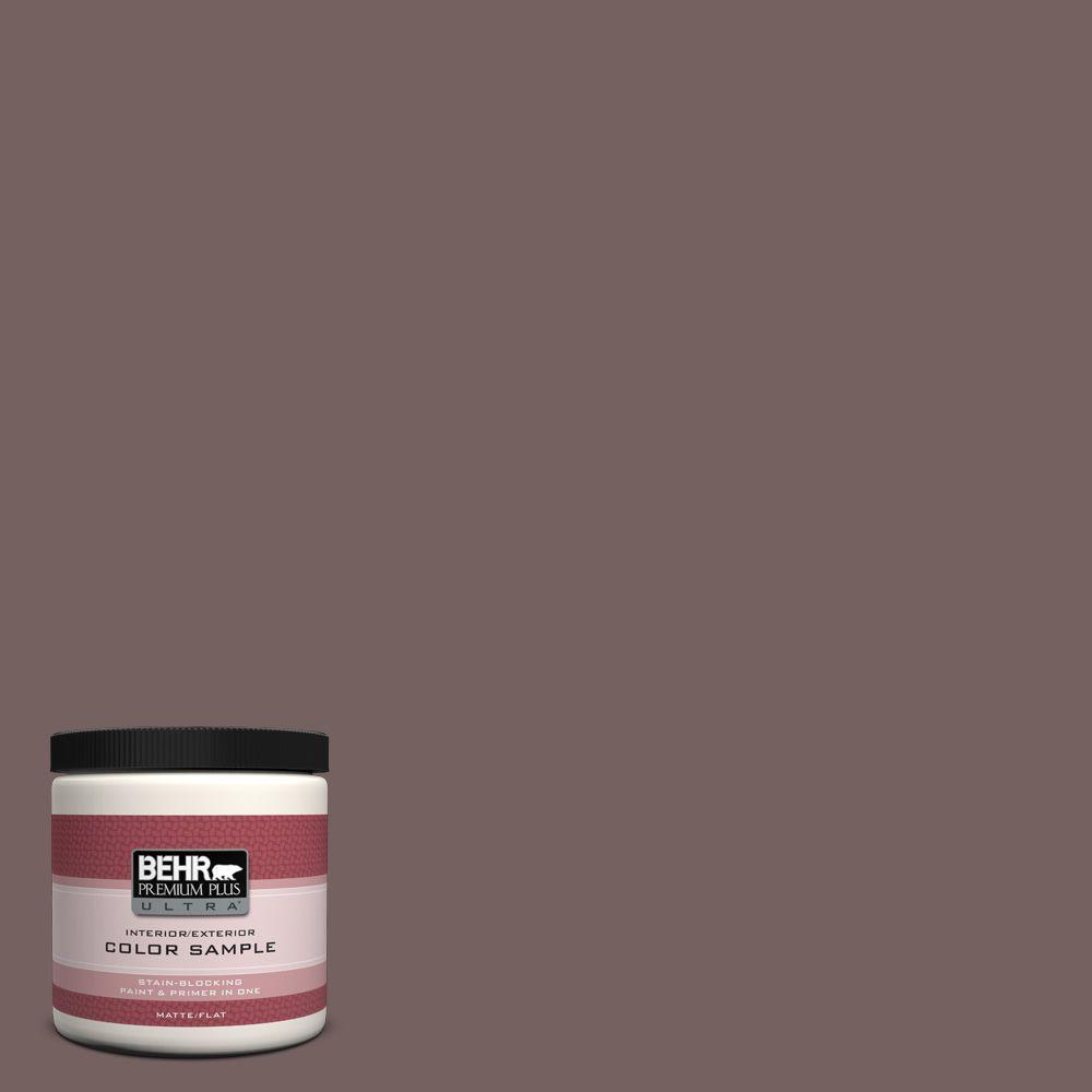 8 oz. #730B-6 Sweet Truffle Interior/Exterior Paint Sample
