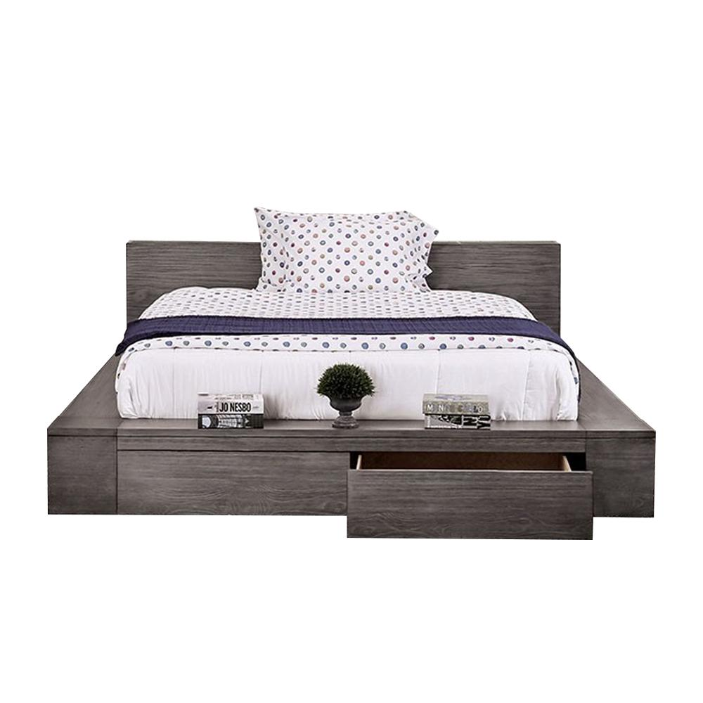 Williams Home Furnishing Gray Bed